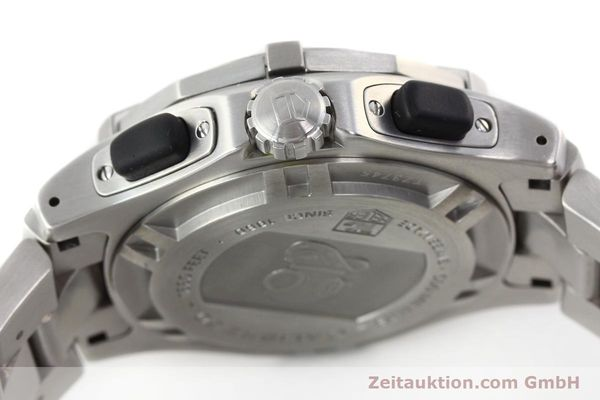 Used luxury watch Tag Heuer Aquagraph steel automatic Kal. 60 Ref. CN211A  | 141185 08