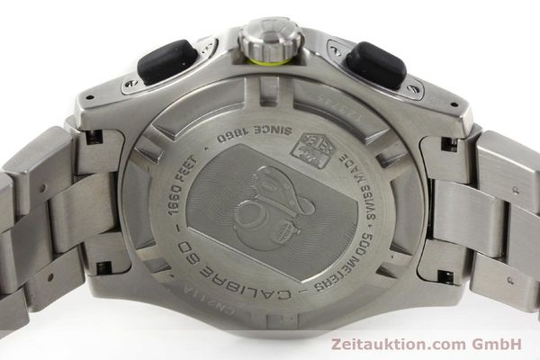 Used luxury watch Tag Heuer Aquagraph steel automatic Kal. 60 Ref. CN211A  | 141185 09