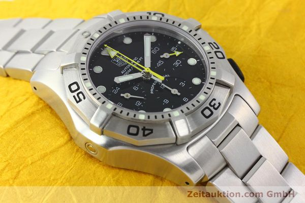 Used luxury watch Tag Heuer Aquagraph steel automatic Kal. 60 Ref. CN211A  | 141185 13