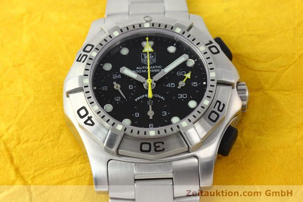 Used luxury watch Tag Heuer Aquagraph steel automatic Kal. 60 Ref. CN211A  | 141185 14