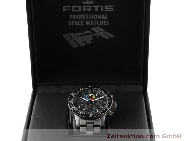 Used luxury watch Fortis B42 titanium automatic Kal. ETA 7750 Ref. 638.27.141  | 141191 07
