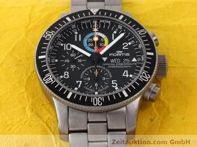 Used luxury watch Fortis B42 titanium automatic Kal. ETA 7750 Ref. 638.27.141  | 141191 16