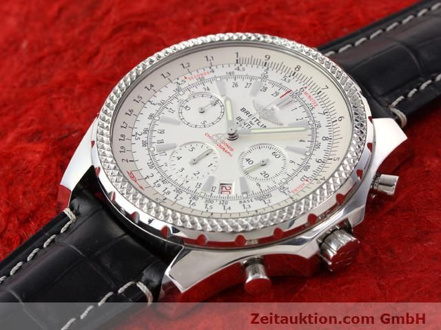 Used luxury watch Breitling Bentley steel automatic Kal. B25 ETA 2892A2 Ref. A25352  | 141194 01