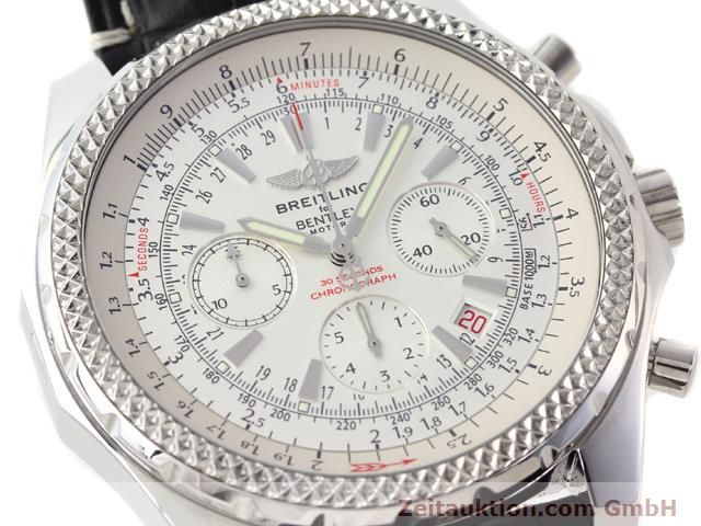 Used luxury watch Breitling Bentley steel automatic Kal. B25 ETA 2892A2 Ref. A25352  | 141194 02