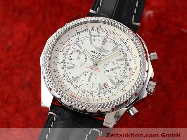 Used luxury watch Breitling Bentley steel automatic Kal. B25 ETA 2892A2 Ref. A25352  | 141194 04