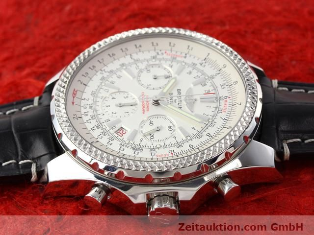 Used luxury watch Breitling Bentley steel automatic Kal. B25 ETA 2892A2 Ref. A25352  | 141194 05