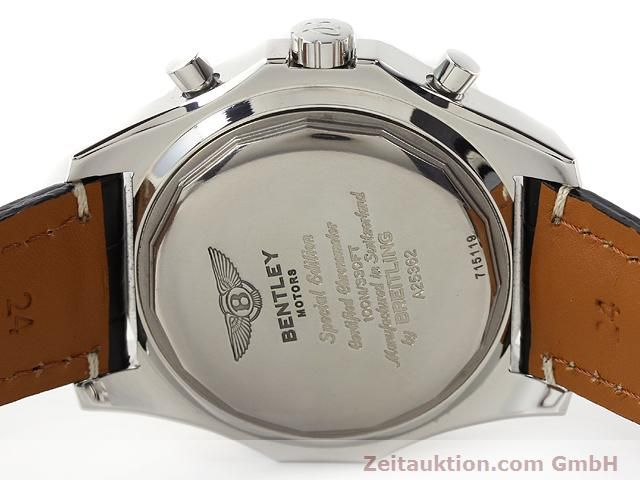 Used luxury watch Breitling Bentley steel automatic Kal. B25 ETA 2892A2 Ref. A25352  | 141194 09