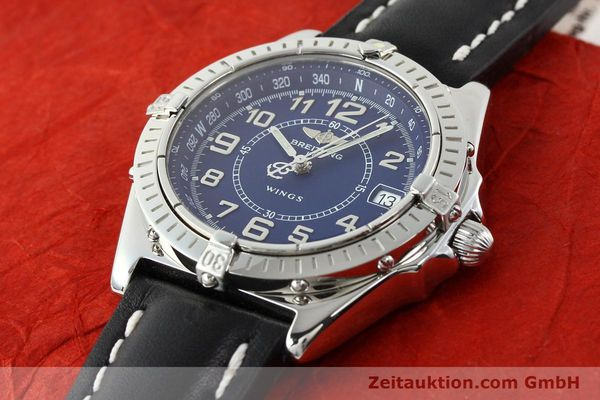 Used luxury watch Breitling Wings steel quartz Kal. B66 Ref. A66050  | 141195 01