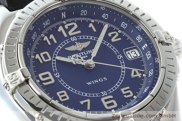 Used luxury watch Breitling Wings steel quartz Kal. B66 Ref. A66050  | 141195 02