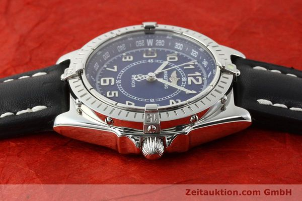 Used luxury watch Breitling Wings steel quartz Kal. B66 Ref. A66050  | 141195 05