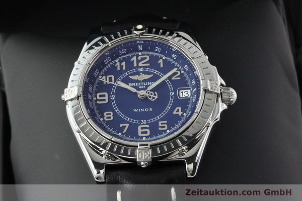 Used luxury watch Breitling Wings steel quartz Kal. B66 Ref. A66050  | 141195 07