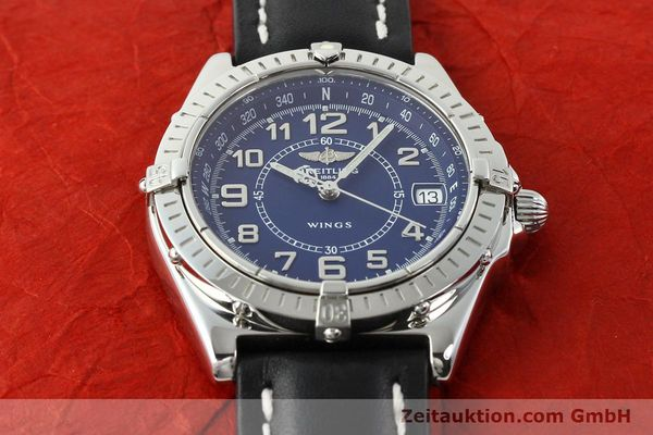 Used luxury watch Breitling Wings steel quartz Kal. B66 Ref. A66050  | 141195 13
