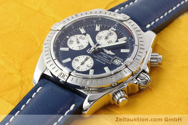 Used luxury watch Breitling Evolution steel automatic Kal. B13 ETA 7750 Ref. A13356  | 141197 01