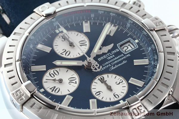 Used luxury watch Breitling Evolution steel automatic Kal. B13 ETA 7750 Ref. A13356  | 141197 02