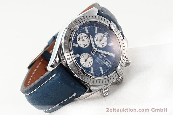 Used luxury watch Breitling Evolution steel automatic Kal. B13 ETA 7750 Ref. A13356  | 141197 03