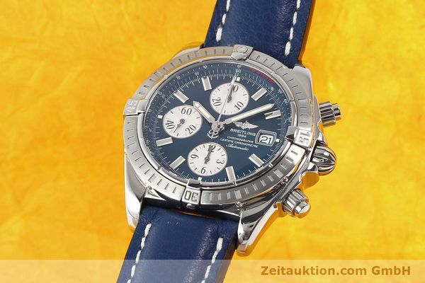 Used luxury watch Breitling Evolution steel automatic Kal. B13 ETA 7750 Ref. A13356  | 141197 04