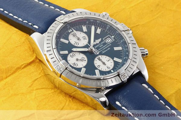 Used luxury watch Breitling Evolution steel automatic Kal. B13 ETA 7750 Ref. A13356  | 141197 13