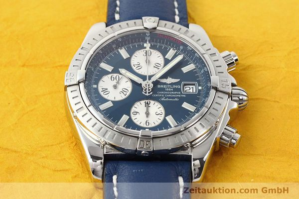 Used luxury watch Breitling Evolution steel automatic Kal. B13 ETA 7750 Ref. A13356  | 141197 14