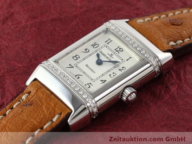 Used luxury watch Jaeger Le Coultre Reverso steel quartz Kal. 608 Ref. 265.8.08  | 141201 01