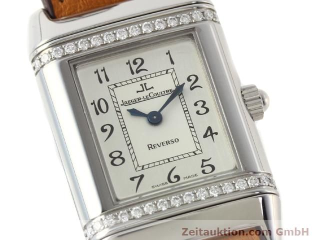Used luxury watch Jaeger Le Coultre Reverso steel quartz Kal. 608 Ref. 265.8.08  | 141201 02