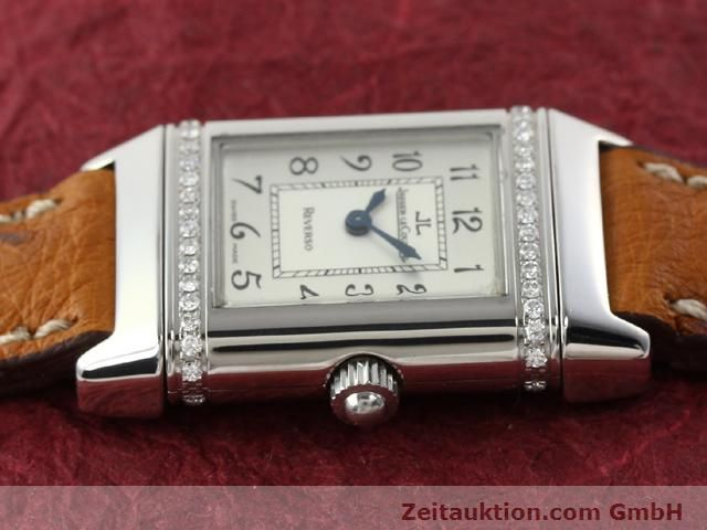Used luxury watch Jaeger Le Coultre Reverso steel quartz Kal. 608 Ref. 265.8.08  | 141201 05
