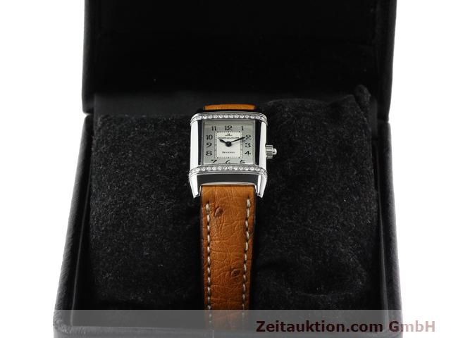 Used luxury watch Jaeger Le Coultre Reverso steel quartz Kal. 608 Ref. 265.8.08  | 141201 07