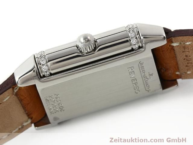 Used luxury watch Jaeger Le Coultre Reverso steel quartz Kal. 608 Ref. 265.8.08  | 141201 08