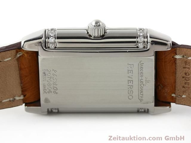 Used luxury watch Jaeger Le Coultre Reverso steel quartz Kal. 608 Ref. 265.8.08  | 141201 09
