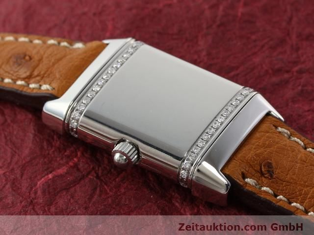 Used luxury watch Jaeger Le Coultre Reverso steel quartz Kal. 608 Ref. 265.8.08  | 141201 10