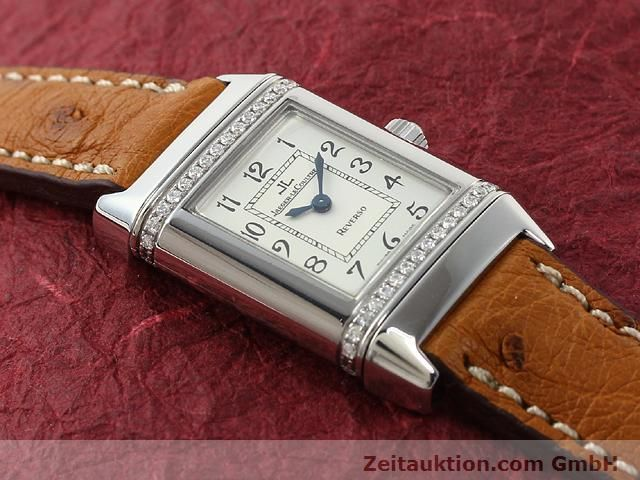 Used luxury watch Jaeger Le Coultre Reverso steel quartz Kal. 608 Ref. 265.8.08  | 141201 12