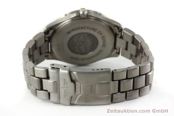 Used luxury watch Breitling Aerospace chronograph titanium / gold quartz Kal. B56 Ref. F56062  | 141205 11
