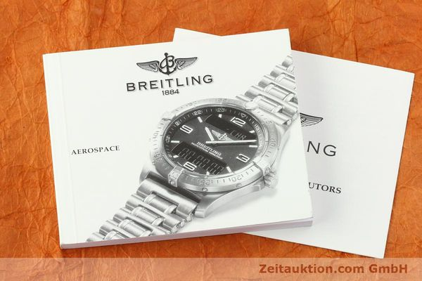 Used luxury watch Breitling Aerospace chronograph titanium / gold quartz Kal. B56 Ref. F56062  | 141205 12