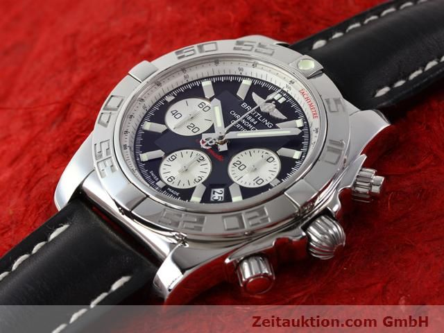 Used luxury watch Breitling B01 steel automatic Kal. B01 Ref. AB0110  | 141212 01