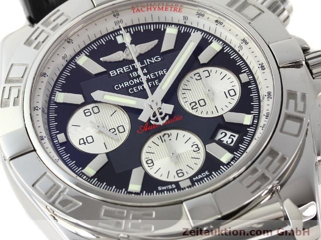 Used luxury watch Breitling B01 steel automatic Kal. B01 Ref. AB0110  | 141212 02