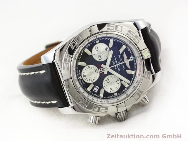 Used luxury watch Breitling B01 steel automatic Kal. B01 Ref. AB0110  | 141212 03