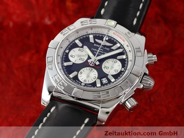 Used luxury watch Breitling B01 steel automatic Kal. B01 Ref. AB0110  | 141212 04