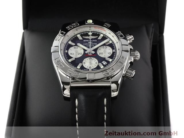 Used luxury watch Breitling B01 steel automatic Kal. B01 Ref. AB0110  | 141212 07