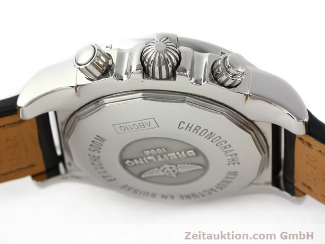 Used luxury watch Breitling B01 steel automatic Kal. B01 Ref. AB0110  | 141212 08