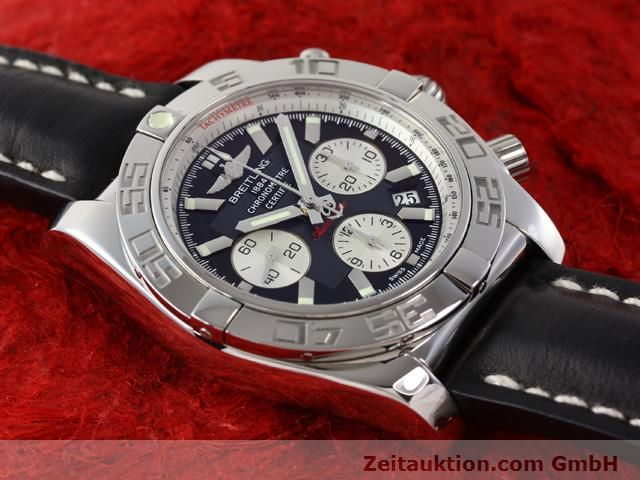 Used luxury watch Breitling B01 steel automatic Kal. B01 Ref. AB0110  | 141212 15