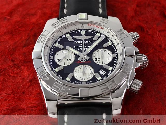 Used luxury watch Breitling B01 steel automatic Kal. B01 Ref. AB0110  | 141212 16