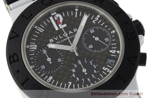 Used luxury watch Bvlgari Diagono chronograph aluminium automatic Kal. TEEE 080 Ref. AC38TA  | 141216 02