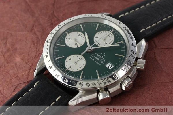 Used luxury watch Omega Speedmaster chronograph steel automatic Kal. 1155 ETA 7750  | 141217 01
