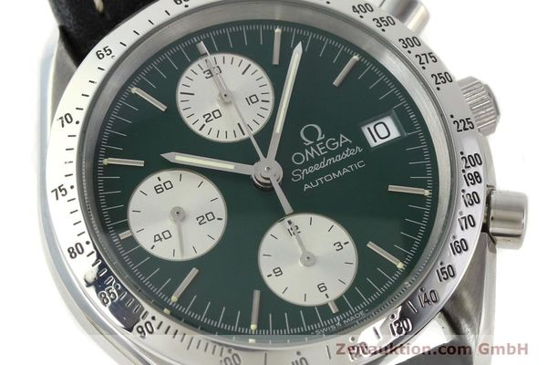 Used luxury watch Omega Speedmaster chronograph steel automatic Kal. 1155 ETA 7750  | 141217 02