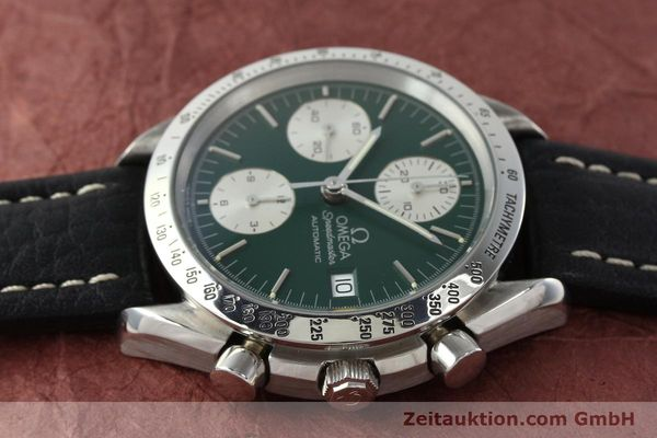 Used luxury watch Omega Speedmaster chronograph steel automatic Kal. 1155 ETA 7750  | 141217 05