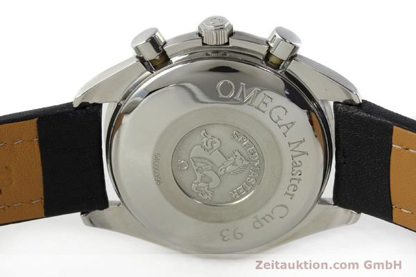 Used luxury watch Omega Speedmaster chronograph steel automatic Kal. 1155 ETA 7750  | 141217 08