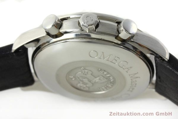Used luxury watch Omega Speedmaster chronograph steel automatic Kal. 1155 ETA 7750  | 141217 11