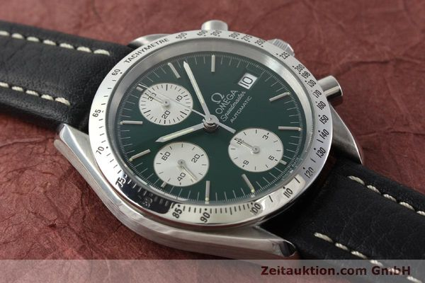 Used luxury watch Omega Speedmaster chronograph steel automatic Kal. 1155 ETA 7750  | 141217 12