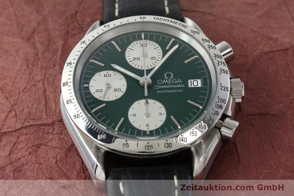 Used luxury watch Omega Speedmaster chronograph steel automatic Kal. 1155 ETA 7750  | 141217 13