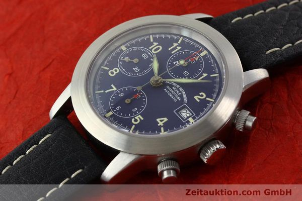 Used luxury watch Mühle Sport Chronograph chronograph steel automatic Kal. ETA 7750 Ref. M12300  | 141220 01