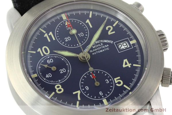 Used luxury watch Mühle Sport Chronograph chronograph steel automatic Kal. ETA 7750 Ref. M12300  | 141220 02